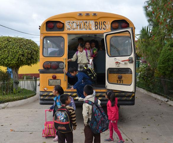 reparacion del bus escolar