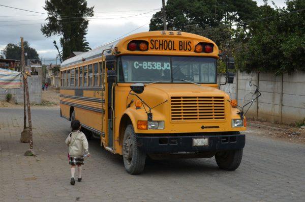 Bus escolar guatemala