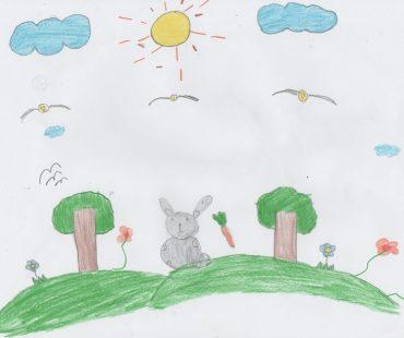 Los dibujos de los niños de primaria