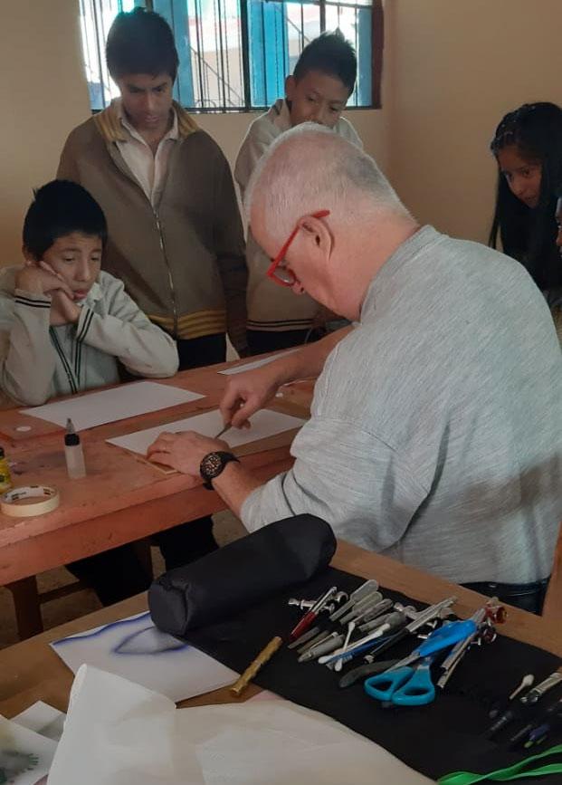 Classes with Mario Romani at Manos Amigas